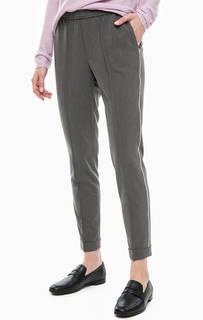 Серые трикотажные брюки на резинке Cinque