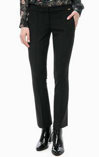 Черные расклешенные брюки Cinque