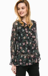Полупрозрачная блуза с цветочным принтом Cinque