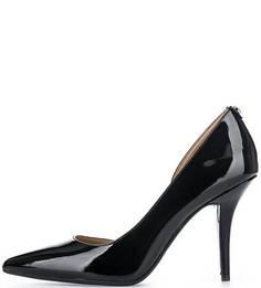 Черные туфли из лаковой кожи Michael Michael Kors