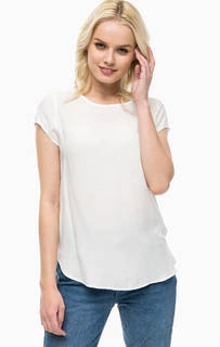 Белая футболка из вискозы Vero Moda
