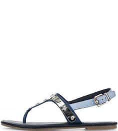 Кожаные сандалии с декоративным элементом Tommy Hilfiger