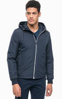 Синяя куртка с капюшоном Tommy Hilfiger