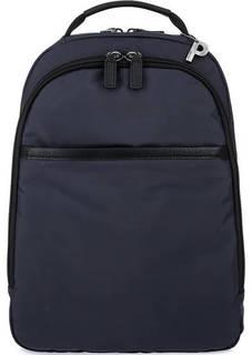 Синий текстильный рюкзак с двумя отделами Picard