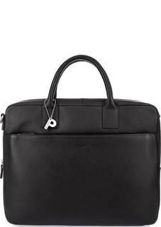 Коричневая сумка с отделением для ноутбука Picard