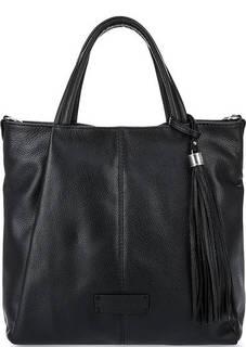 Кожаная сумка через плечо с короткими ручками Fiato