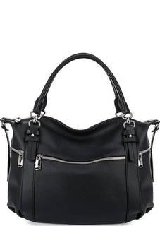 Кожаная сумка через плечо с карманами Fiato