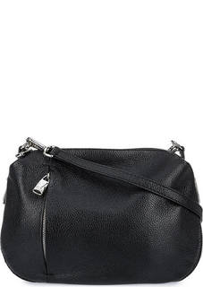 Кожаная сумка через плечо с двумя отделами Fiato