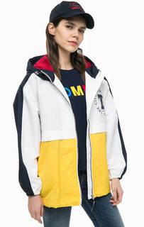 Легкая куртка на молнии с капюшоном Tommy Jeans