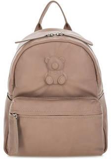Рюкзак из натуральной кожи с тиснением Io Pelle