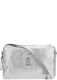 Маленькая кожаная сумка с тиснением Io Pelle