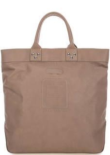 Коричневая кожаная сумка Io Pelle