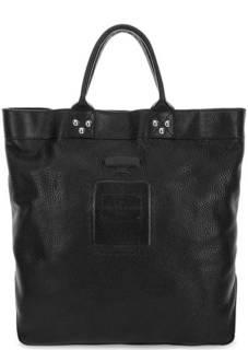 Черная кожаная сумка Io Pelle