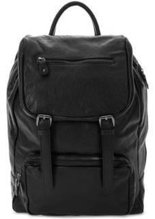 Вместительный рюкзак из натуральной кожи Bruno Rossi