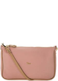 Маленькая кожаная сумка со съемной ручкой Bruno Rossi