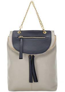 Кожаный рюкзак со съемным карманом Bruno Rossi