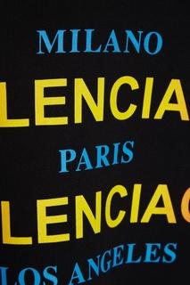 Хлопковое худи с логотипами Balenciaga