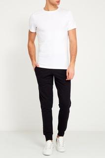 Белая футболка с круглым вырезом Bread&Boxers