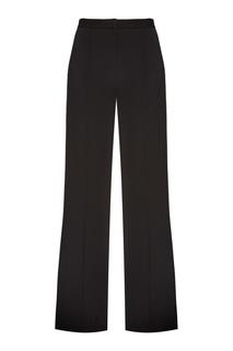 Черные широкие брюки Diane von Furstenberg