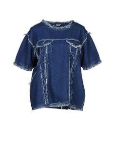 Джинсовая рубашка Andrea Crews