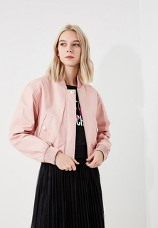 Куртка кожаная Boutique Moschino