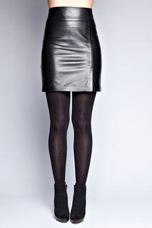 Кожаная юбка Giorgio