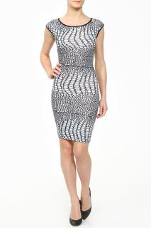 Модное платье с округлым вырезом горловины MONDIGO