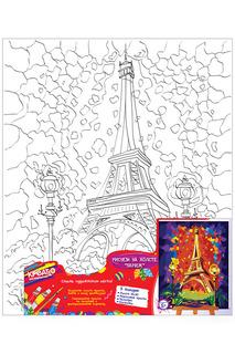 Роспись по холсту Париж Креатто
