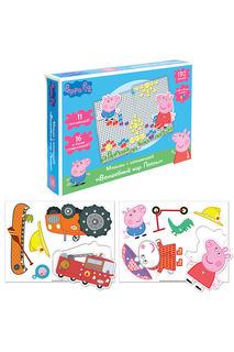 Мозаика с аппликацией Peppa Pig
