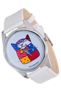 "Часы ""Лоскутная кошка"" MITYA VESELKOV"