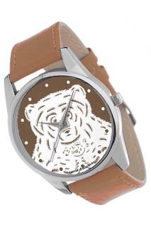 "Часы ""Медведь на коричневом"" MITYA VESELKOV"