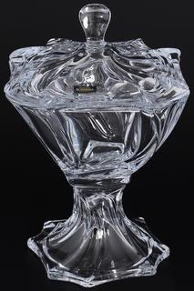 Конфетница с крышкой 26 см Crystalite Bohemia
