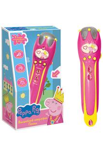 Музыкальный микрофон Peppa Pig