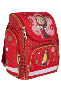 Рюкзак с усиленной спинкой Маша и Медведь