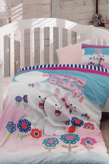 Baby Quilt Cover Set COLORS OF FASHION