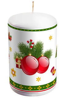 "Свеча декоративная ""Шары"" Mister Christmas"