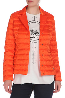 Полуприлегающая куртка с застежкой на кнопки Max Mara Weekend