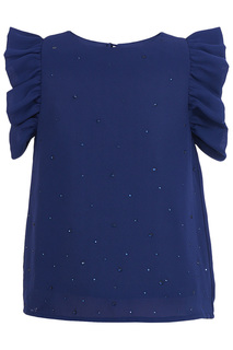 Блузка Button Blue