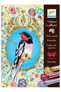 Набор Блестящие птицы Djeco