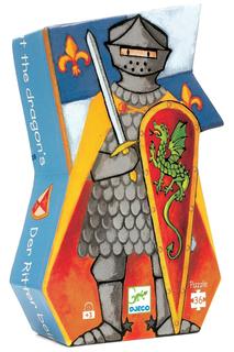 Пазл Рыцарь и дракон Djeco
