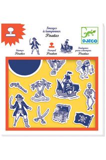 Набор штампов Пираты Djeco