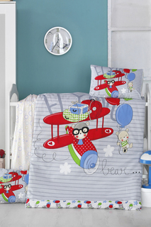 Baby Quilt Cover Set Victoria