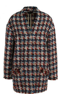 Буклированное пальто свободного кроя Isabel Marant
