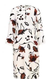 Приталенное платье-миди с принтом Dorothee Schumacher