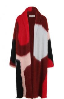 Удлиненный шерстяной кардиган свободного кроя Diane Von Furstenberg