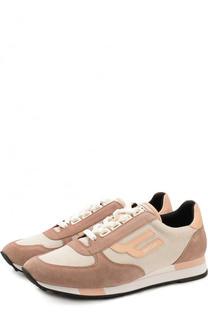 Комбинированные кроссовки Gavinia на шнуровке Bally