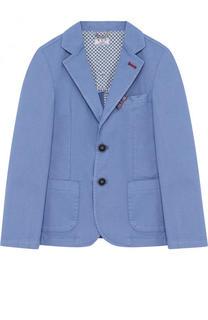 Пиджак из хлопка на двух пуговицах Aletta