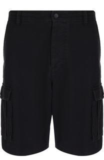 Хлопковые шорты с накладными карманами Valentino