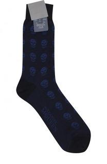 Хлопковые носки Alexander McQueen