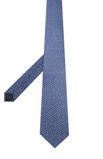Комплект из шелкового галстука и платка Lanvin
